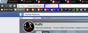 How to send message in Facebook when blocked ?