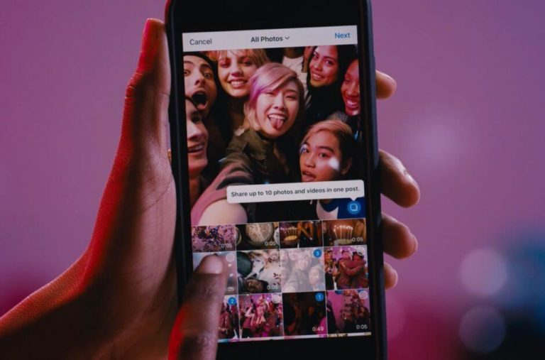 Instagram now lets 10 photos and videos in single post