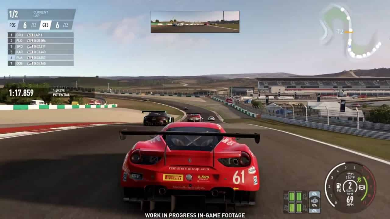 Project Cars 2 VR Game