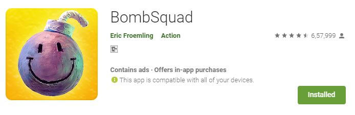 Bombsquad Multiplayer android game