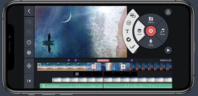 kineMaster for iPhone