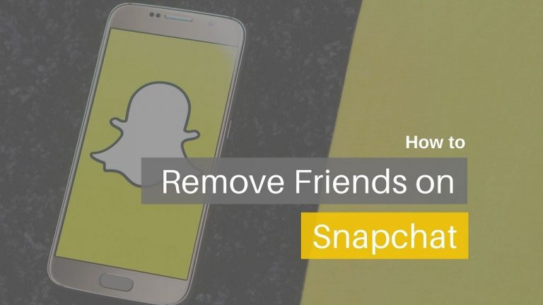 How to Delete Friends on Snapchat (Android & iPhone)