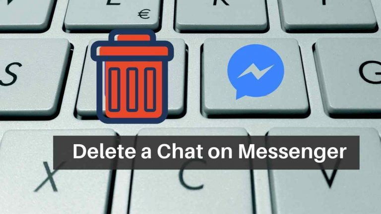 How To Delete A Sent Message On FB Messenger