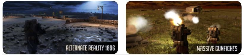 Noblemen 1896 shooting game for iPhone