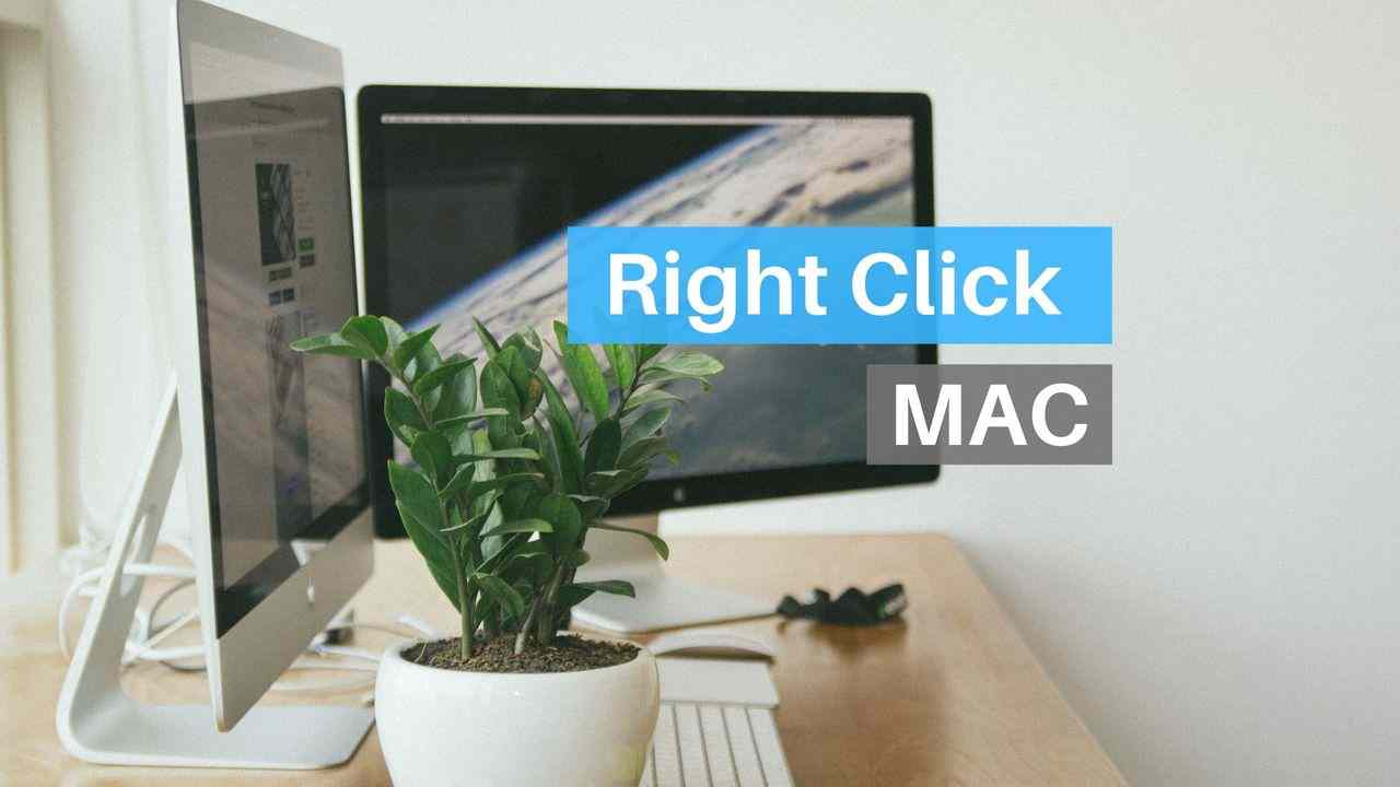 How to right click on Mac