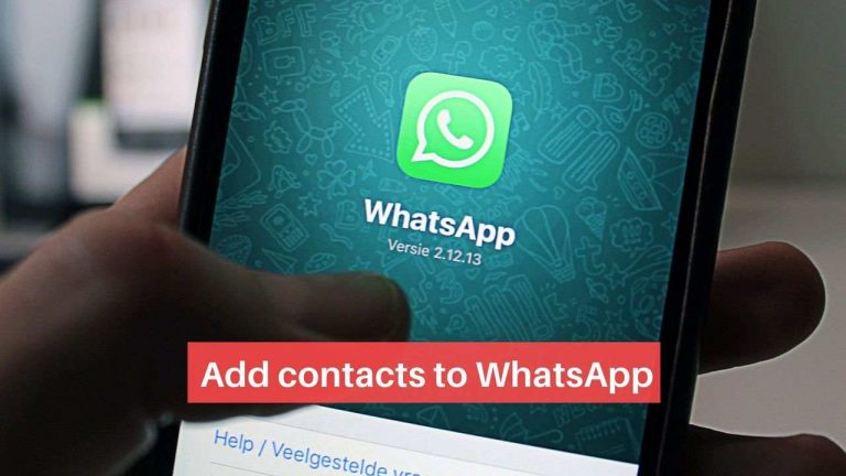 How to Add a Contact on WhatsApp [Android and iPhone]