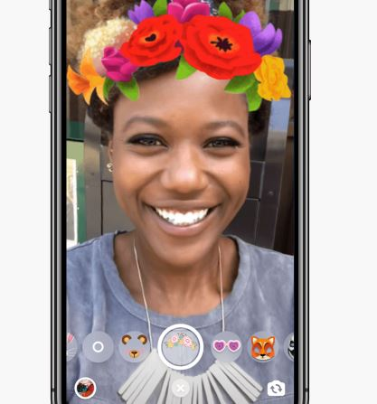 Filters in Messenger video calls