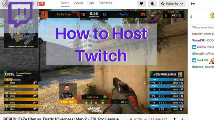 How to Host Twitch