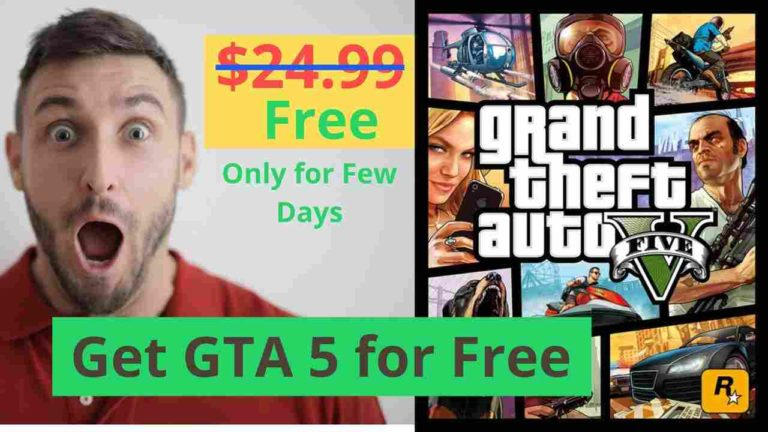 How to Download GTA 5 for Free [Legally from Epic Games]
