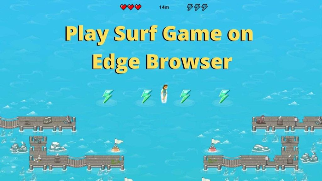 Surf Game on edge browser