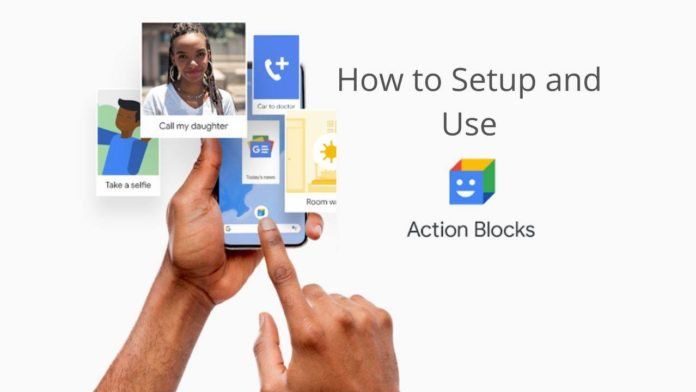 how to create Action Blocks