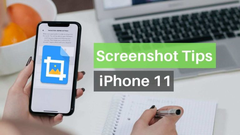 How to Take Screenshot on iPhone 11, Edit and Share