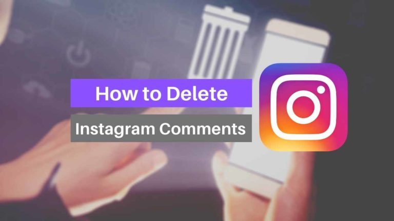 How to Delete or Edit a Comment on Instagram
