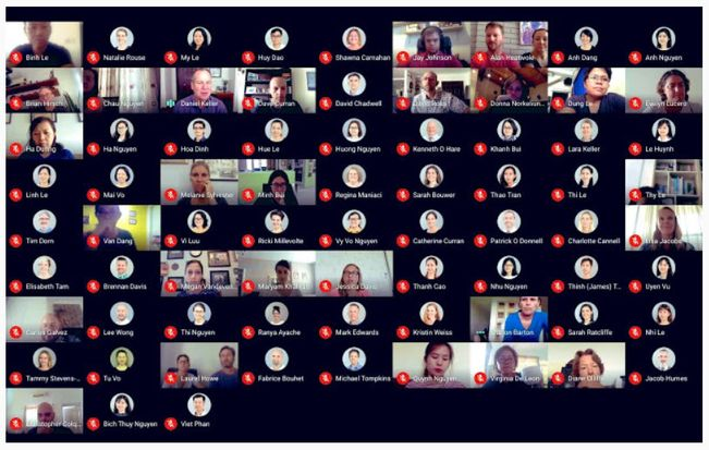 view more than 16 people in tiled view in Google Meet