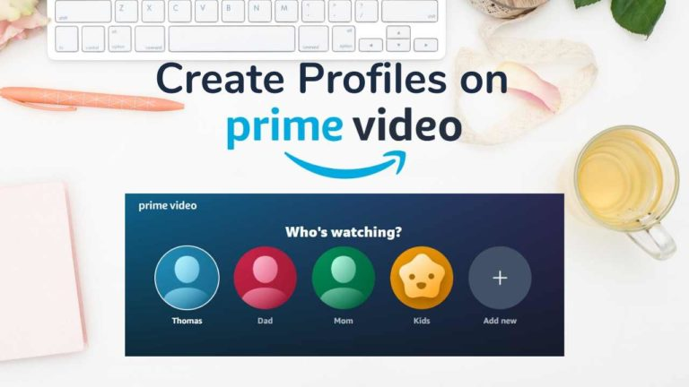 How to Create a Profile on Amazon Prime Video?