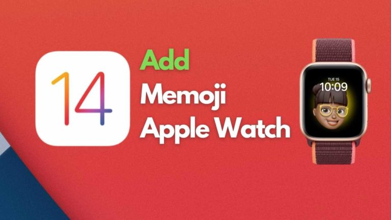 How to Add Your Memoji on Apple Watch