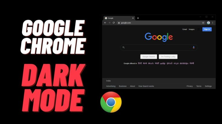 How to Enable the Dark Mode on Chrome Browser