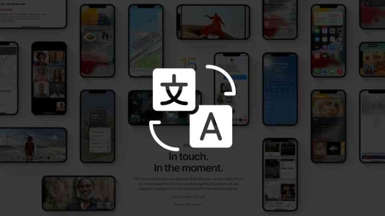 How to Use Apple Translate App in iOS 15