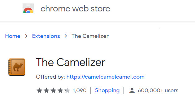 The Camelizer Google Extension