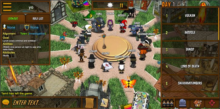 town of Salem Game Play