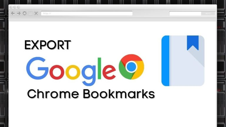 Steps to Export and Import Google Chrome Bookmarks
