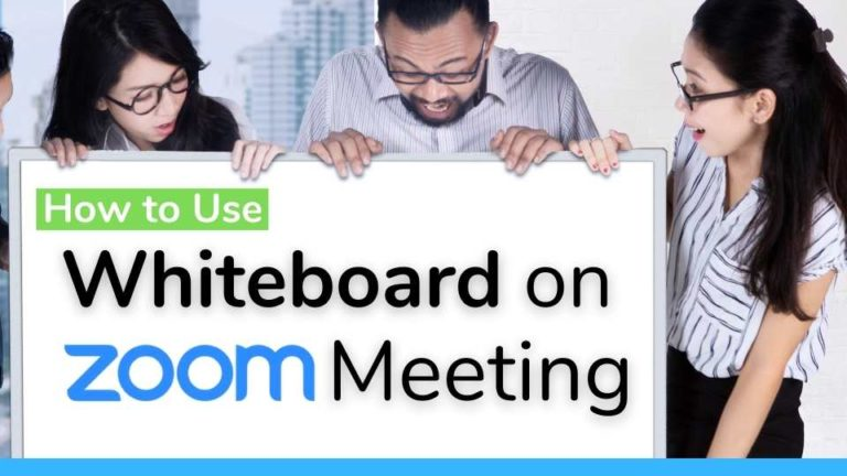 How to use Whiteboard on Zoom