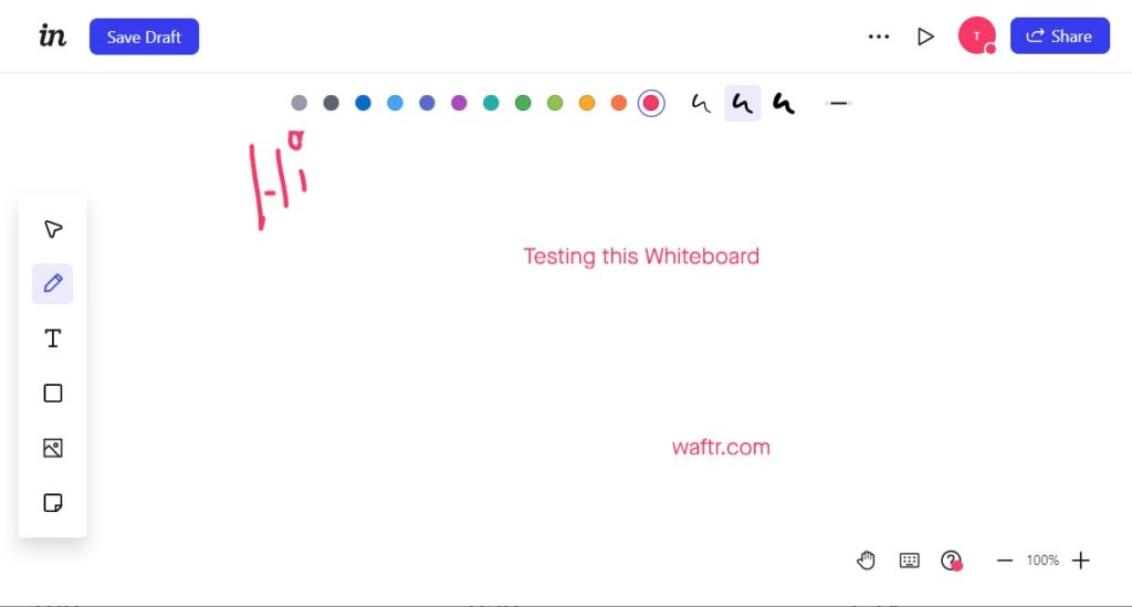 freehand invision whiteboard