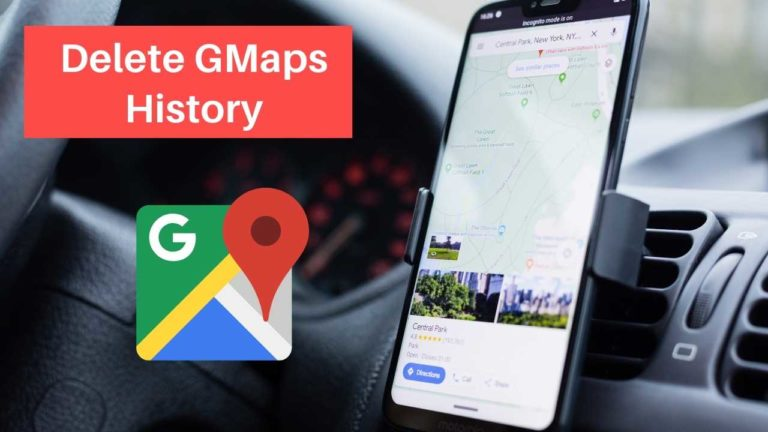 3 Steps to Delete or Disable Your Location History in Google Maps
