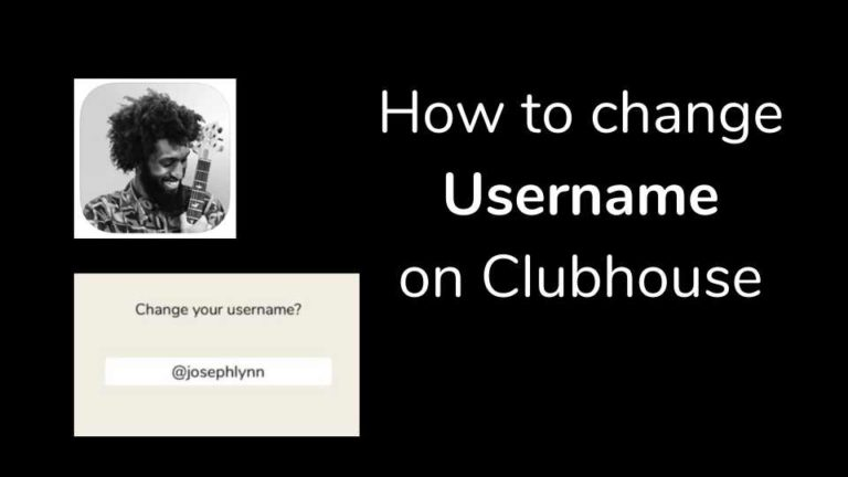 How to Change the username in Clubhouse