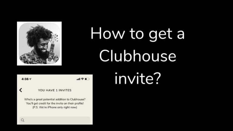 How to Get a Clubhouse Invite?