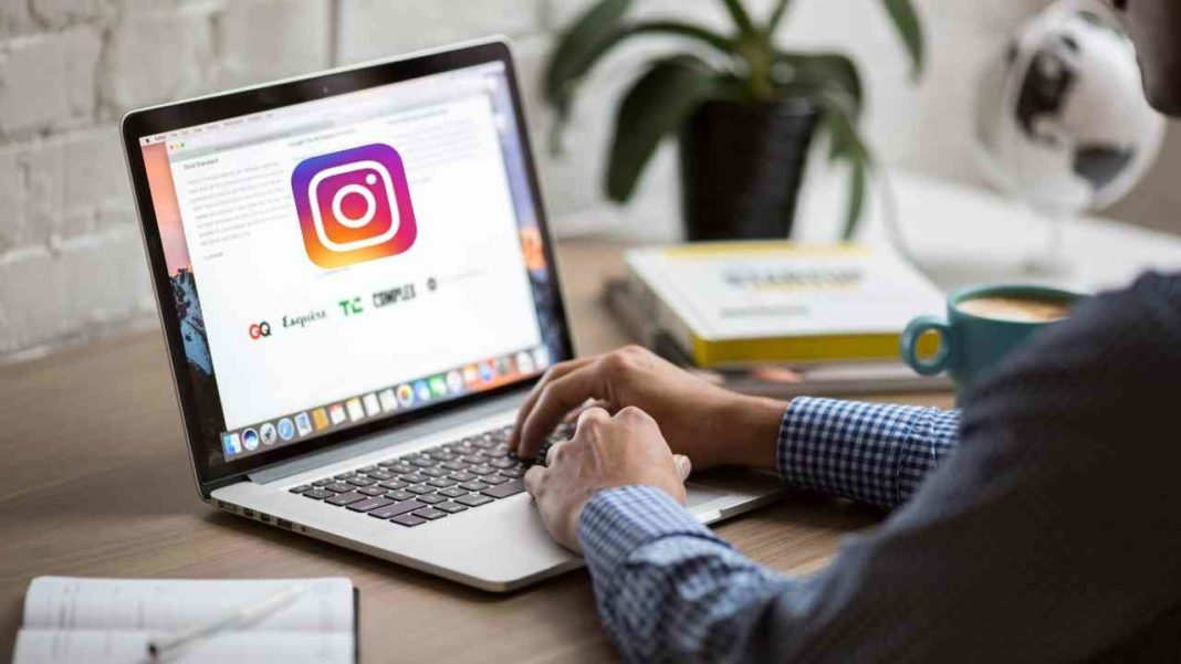 How to Make post using MAC on Instagram