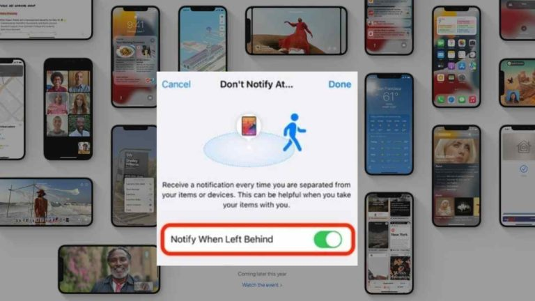 How to use Separation alerts in iOS 15?