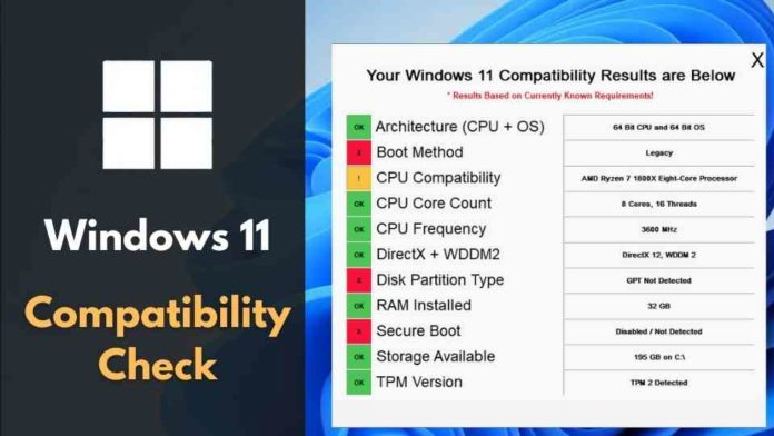 how to check windows 11 compatibility