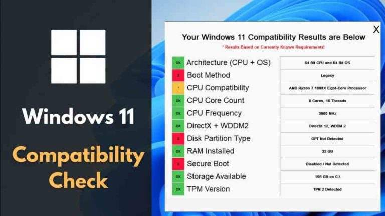 How to Check Windows 11 Compatibility [3 Easy Methods]