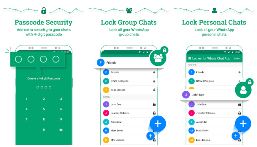 WhatsApp Chat hider without Archiving